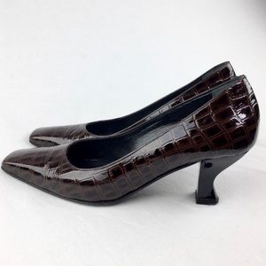 Charles David by Nathalie M Patent Leather Pumps